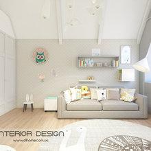 Фото из портфолио Двухуровневая квартира для молодой семьи – фотографии дизайна интерьеров на INMYROOM