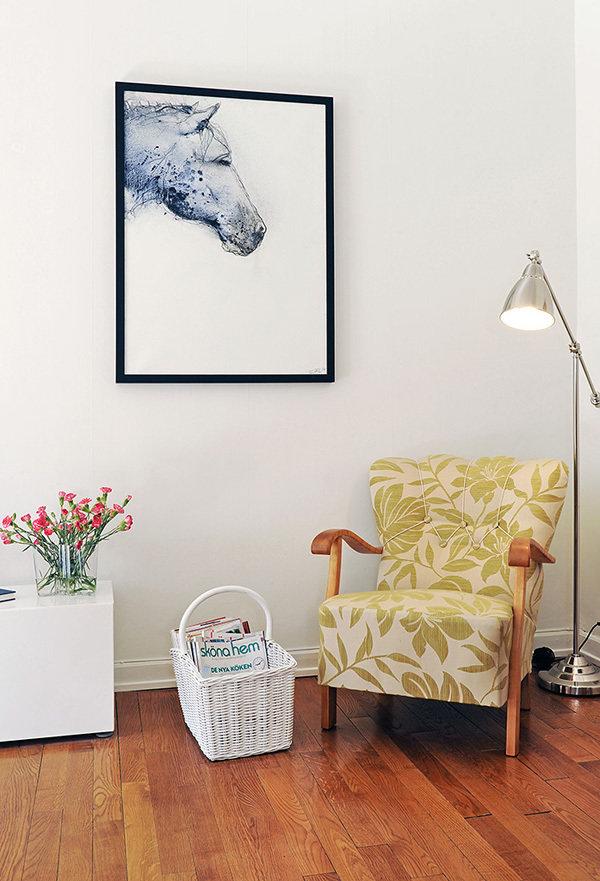 Фотография: Декор в стиле Скандинавский, Современный, Малогабаритная квартира, Квартира, Швеция, Дома и квартиры – фото на InMyRoom.ru