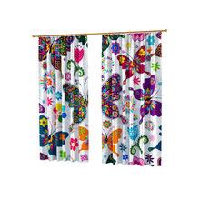Дизайнерские фотошторы: Красочные бабочки