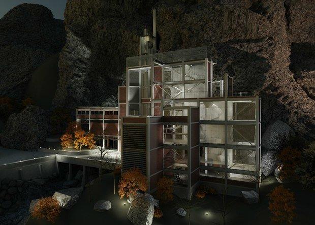 Фото из портфолио Скалодром  – фотографии дизайна интерьеров на INMYROOM