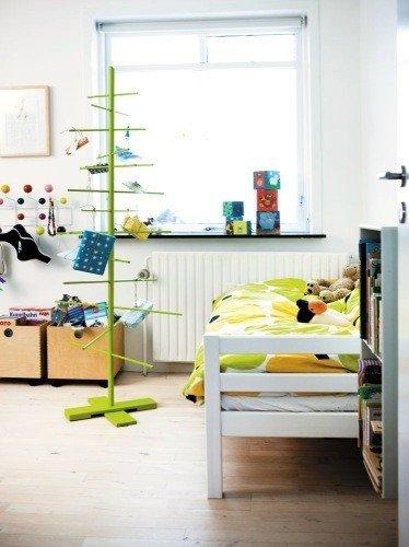 Фотография: Детская в стиле Скандинавский, Декор интерьера, Квартира, Аксессуары, Зеленый – фото на InMyRoom.ru