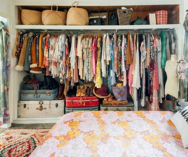 Фотография: Гардеробная в стиле Прованс и Кантри, Спальня, Советы – фото на INMYROOM