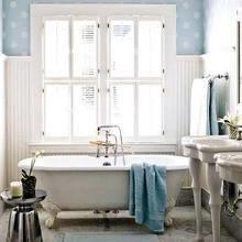 Фотография: Ванная в стиле Кантри, Классический, Современный – фото на InMyRoom.ru