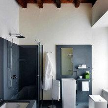 Фотография: Ванная в стиле Лофт, Минимализм, Италия, Дома и квартиры, Городские места, Отель – фото на InMyRoom.ru