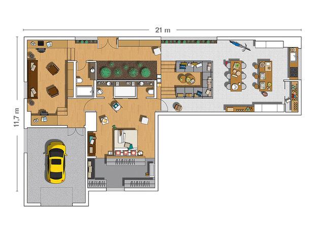 Фотография: Планировки в стиле , Декор интерьера, Дом, Дома и квартиры, Проект недели – фото на INMYROOM