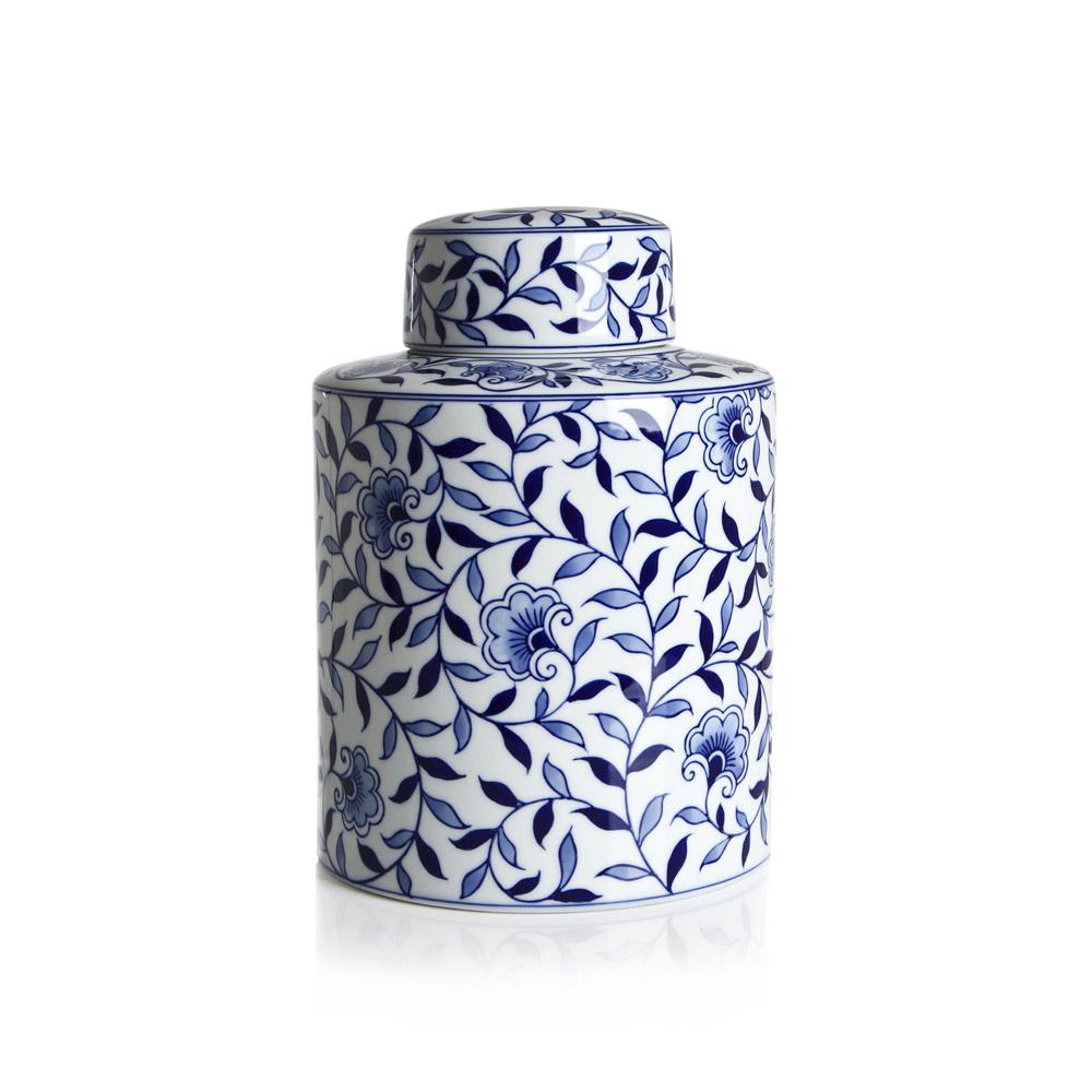 Купить Фарфоровая ваза Loca Nera Chinese Pattern, inmyroom, Италия