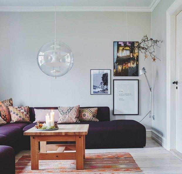 Фотография: Спальня в стиле Скандинавский, Декор интерьера, Дом, Дания, Новый Год, новогодний декор, Более 90 метров – фото на INMYROOM