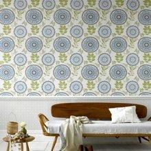 Фотография: Мебель и свет в стиле Кантри, Декор интерьера, Декор дома, Обои – фото на InMyRoom.ru
