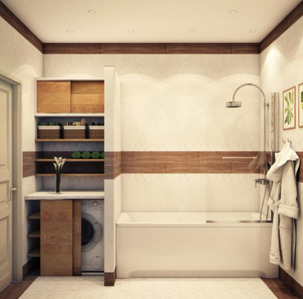 Фотография: Ванная в стиле Эко, Советы, маленькая ванная – фото на InMyRoom.ru