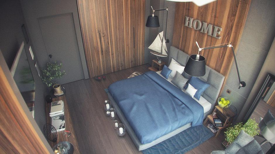 Фотография: Спальня в стиле Лофт, Эклектика, Квартира, Дома и квартиры, IKEA – фото на InMyRoom.ru