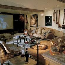 Фотография: Гостиная в стиле Кантри, Дома и квартиры, Интерьеры звезд – фото на InMyRoom.ru