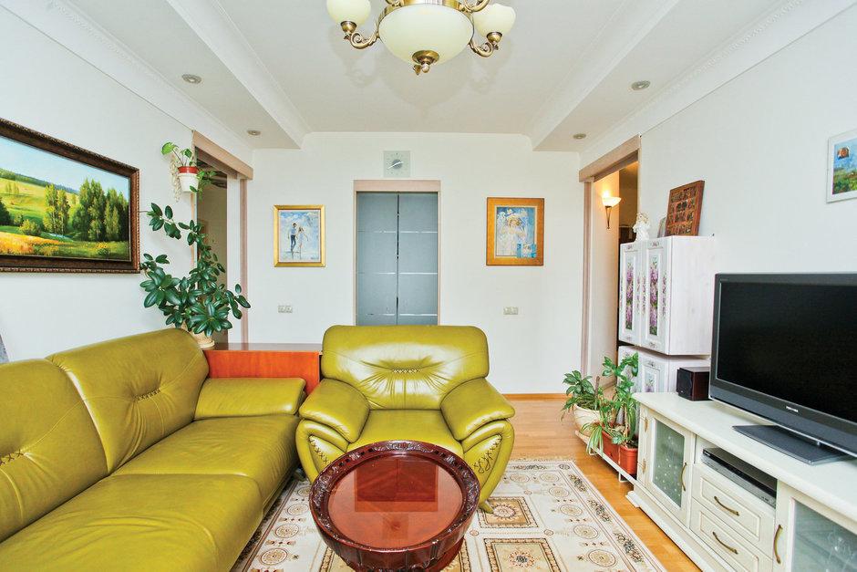 Фотография: Гостиная в стиле Эклектика, Квартира, Дома и квартиры – фото на InMyRoom.ru