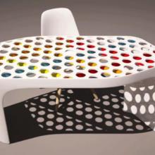 Фото из портфолио Samsung Staron WorldWide: Необычный стол – фотографии дизайна интерьеров на InMyRoom.ru