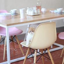Фотография: Кухня и столовая в стиле Скандинавский, Мебель и свет, История дизайна, Гид,  Charles & Ray Eames, Eames DSR – фото на InMyRoom.ru
