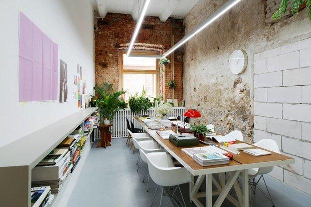 Фото из портфолио Офис архитектурного бюро Crosby Studios  – фотографии дизайна интерьеров на INMYROOM
