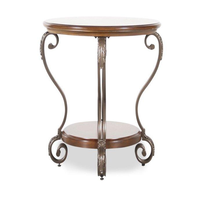Придиванный круглый стол Nestor T517-6