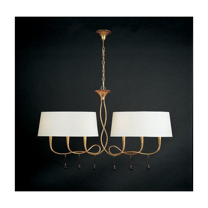 """Подвесной светильник """"Paola Painted Gold"""""""