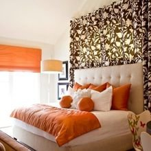 Фотография: Спальня в стиле Современный, Декор интерьера, Текстиль, Советы, Шторы, Балдахин – фото на InMyRoom.ru