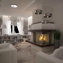 Фото из портфолио Дизайн загородного дома в МО – фотографии дизайна интерьеров на InMyRoom.ru