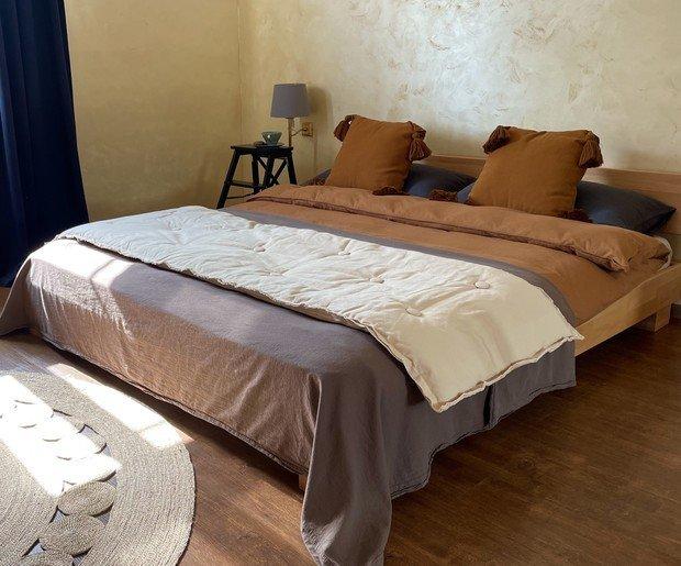 Фото из портфолио Загородный дом в цветах ранней осени – фотографии дизайна интерьеров на INMYROOM
