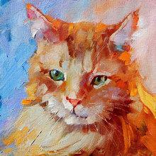Картина (репродукция, постер): Lovely kitty cat - Дрима Толле Перри