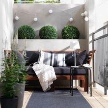 Фотография: Балкон в стиле Скандинавский, Декор интерьера, Квартира, Декор – фото на InMyRoom.ru