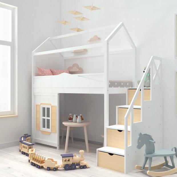 Фото из портфолио Кроватки-домики – фотографии дизайна интерьеров на INMYROOM