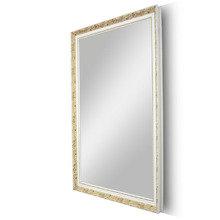 """Зеркало в белой позолоченной деревянной раме """"Живая Классика"""""""