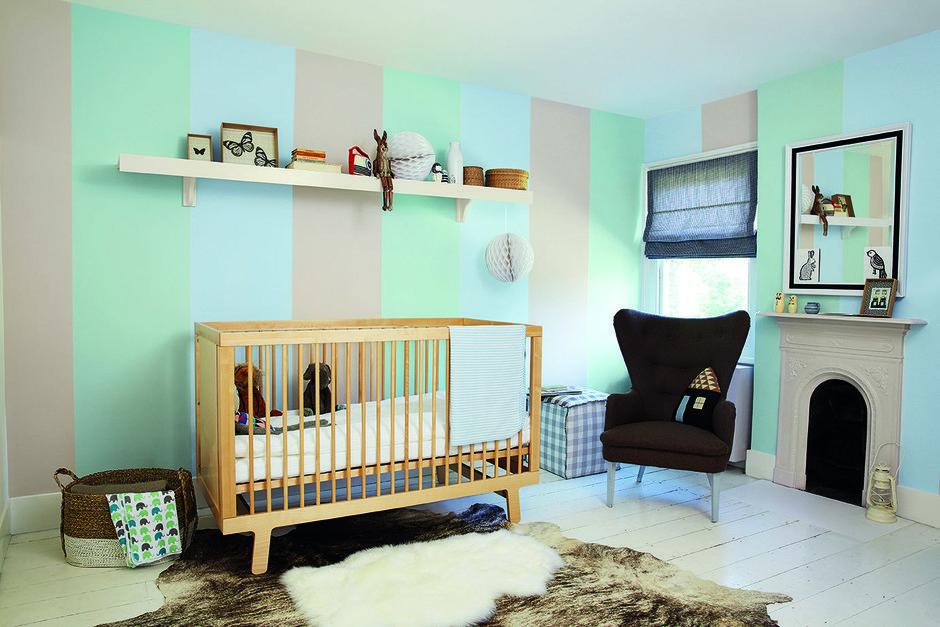 Фотография: Детская в стиле Современный, Декор интерьера, Дизайн интерьера, Цвет в интерьере, Бежевый, Dulux – фото на InMyRoom.ru