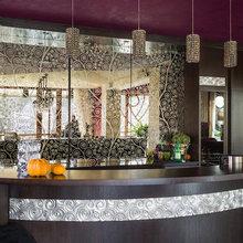 Фотография: Кухня и столовая в стиле Лофт, Современный, Декор интерьера, Дизайн интерьера, Марат Ка, Декоративная штукатурка, Альтокка – фото на InMyRoom.ru