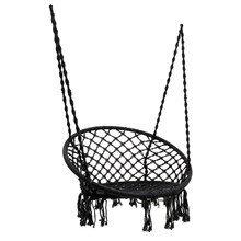 Кресло-гамак черного цвета