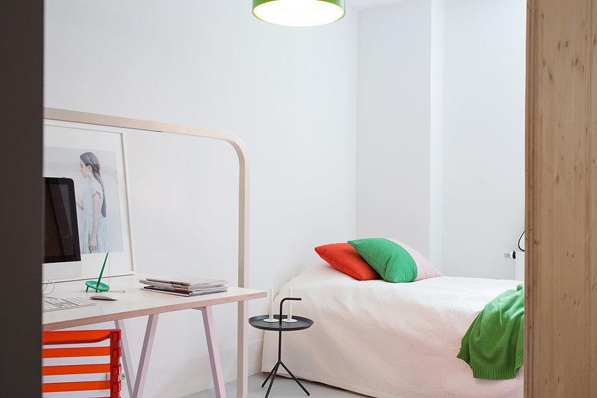 Фотография: Спальня в стиле Скандинавский, Современный, Квартира, Дома и квартиры, Стокгольм – фото на InMyRoom.ru