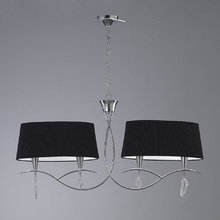 Подвесной светильник Mantra Mara Chrome - Black