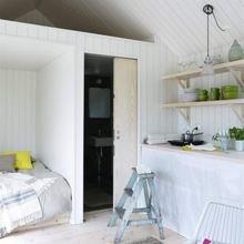 Фото из портфолио Миниатюрный гостевой домик площадью 25 кв.м – фотографии дизайна интерьеров на InMyRoom.ru