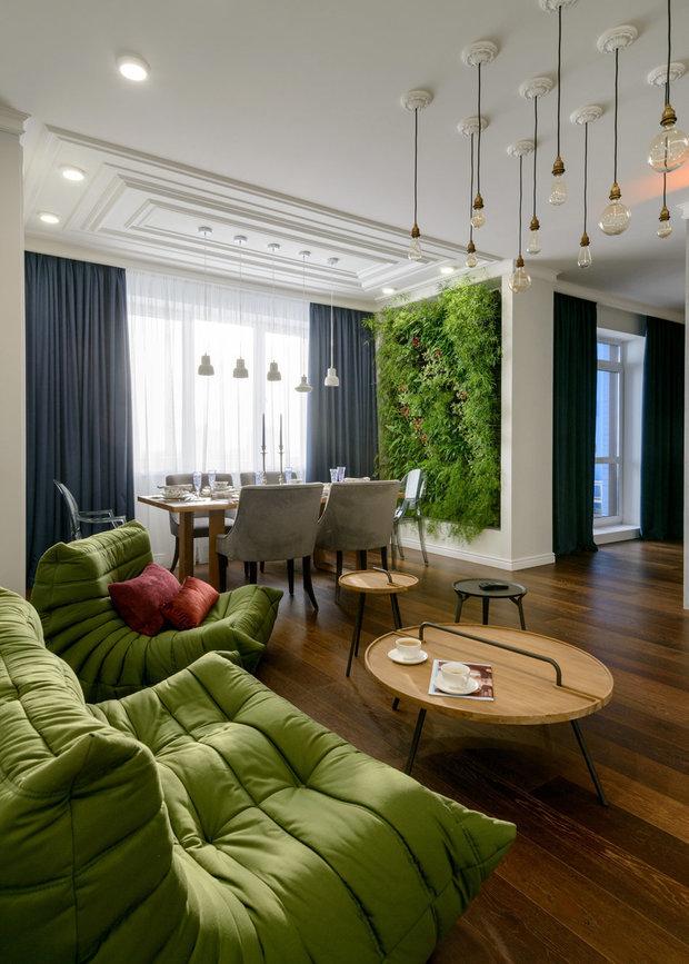 Фотография: Гостиная в стиле Современный, Эко, Декор интерьера – фото на INMYROOM