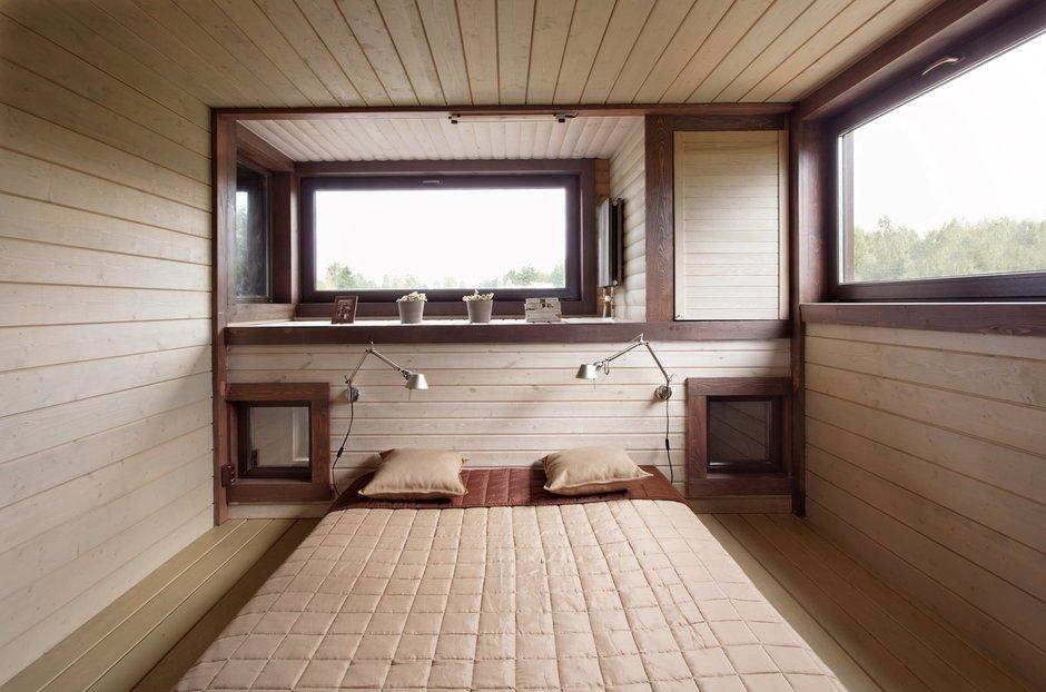 Фотография: Спальня в стиле Современный, Дом, Дома и квартиры, Проект недели, Дача – фото на InMyRoom.ru