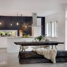 Фото из портфолио Кухня - гостиная – фотографии дизайна интерьеров на InMyRoom.ru