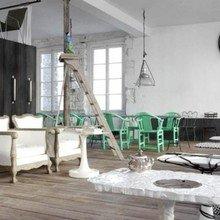 Фотография: Гостиная в стиле Кантри, Скандинавский, Современный – фото на InMyRoom.ru
