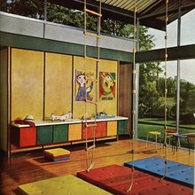 Фотография:  в стиле Кантри, Современный, Детская, Интерьер комнат – фото на InMyRoom.ru