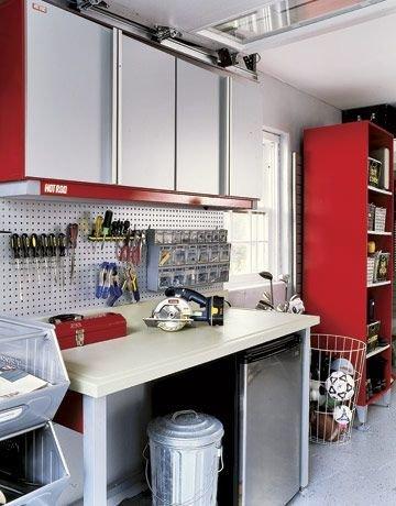 Фотография: Прочее в стиле Современный, Дом и дача, как обустроить гараж, хранение в гараже, как обустроить дачный сарай, идеи для гаража – фото на InMyRoom.ru