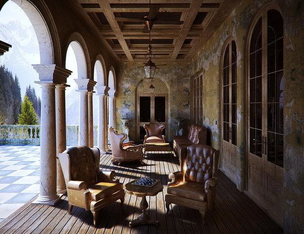 Фотография: Балкон, Терраса в стиле Прованс и Кантри, Классический – фото на INMYROOM
