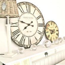Фотография: Декор в стиле Кантри, Современный, Декор интерьера, Часы, Декор дома – фото на InMyRoom.ru