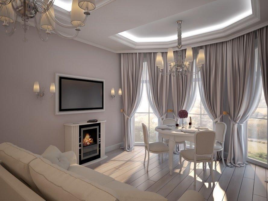 Фотография: Гостиная в стиле Классический, Малогабаритная квартира, Дом, Дома и квартиры – фото на InMyRoom.ru