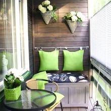 Фотография: Балкон в стиле Кантри, Квартира, Советы, Ремонт на практике, как сделать косметический ремонт балкона, ремонт балкона – фото на InMyRoom.ru