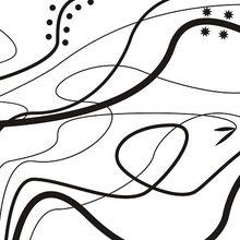"""Модульная картина от дизайнера """"Сломленные нити"""""""
