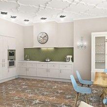 Фотография: Кухня и столовая в стиле Кантри, Квартира, Дома и квартиры, Надя Зотова – фото на InMyRoom.ru
