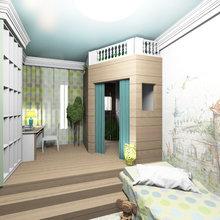Фото из портфолио ЖК Времена Года 156 кв.м. 2 этажа – фотографии дизайна интерьеров на INMYROOM
