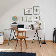 Фотография: Мебель и свет в стиле Скандинавский, Кабинет, Интерьер комнат – фото на InMyRoom.ru