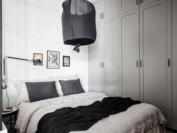 Фотография: Спальня в стиле Скандинавский, Малогабаритная квартира, Квартира, Студия, Швеция, до 40 метров – фото на InMyRoom.ru