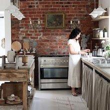 Фотография: Кухня и столовая в стиле Кантри, Классический, Лофт, Современный, Хай-тек – фото на InMyRoom.ru